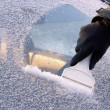 Ice scraping — Stock Photo #18567025