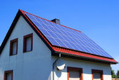 Planta solar — Foto de Stock