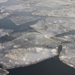 Eisscholle - ice flow 01 — Stock Photo