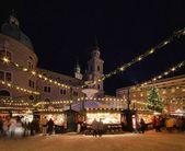 Salzburg Weihnachtsmarkt - Salzburg christmas market 04 — Stock Photo