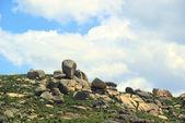 Valencia de Alcantara Granitfelsenlandschaft - Valencia de Alcantara granite rock landscape 50 — Stock Photo