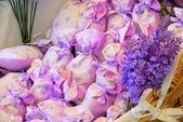 Lavendel liten påse 03 — Stockfoto