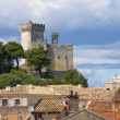 Stock Photo: Beaucaire Burg - Beaucaire castle 03