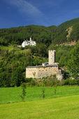 Burgeis castle — Stock Photo