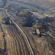 Stock Photo: Open pit Welzow