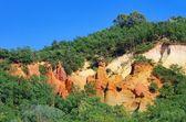 Rustel ocre скалы 18 — Стоковое фото