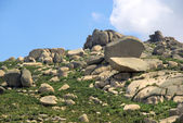 Valencia de Alcantara granite rock landscape 35 — Stock Photo