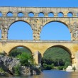 Stock Photo: Pont du Gard