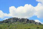 Valencia de Alcantara granite rock landscape — Stock Photo