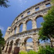 Stock Photo: Amphitheatre of Pula