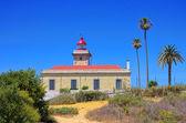 Ponta da Pidade lighthouse — Foto Stock