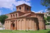 Salamanca Santiago church — Stock Photo