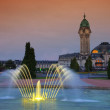 Limoges station by night — Stock Photo