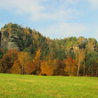 Mountain Rauenstein — Stock Photo