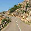 Stara Baska coast road — Stock Photo