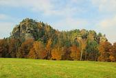 Mountain Rauenstein — Stock Photo