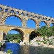 Pont du Gard aqueduct bridge — Stock Photo #27940327