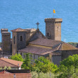 Bolsena castle  — Stock Photo