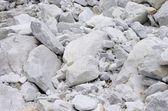 Carrara marble stone pit — Stock Photo