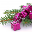 Geschenk freigestellt - gift isolated 0 — Stock Photo
