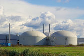 Biogasanlage - biogas plant 37 — Stock Photo