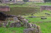 Paestum utgrävningar — Stockfoto