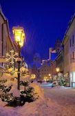 Fuessen christmas market — Stock Photo