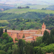 Stock Photo: Monte Oliveto Maggiore - monastery of Catholic Order