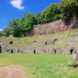 Stock Photo: Sutri amphitheatre