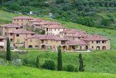 Tuscany village — Stock Photo