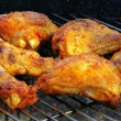 Grilling chicken — Foto de stock #33166129