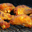 Foto de Stock  : Grilling chicken