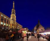 Nuremberg christmas market — Stock Photo
