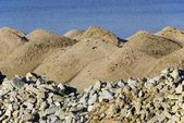 Sand heap — Stock Photo