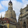 Dresden Church of Our Lady  — Stock Photo