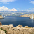 Pag bridge  — Stock Photo