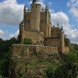 Alcazar of Segovia - the palace and fortress of the Spanish kings — Stock Photo