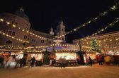 Salzburg's Christmas market — Stock Photo
