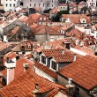Roofs of houses — Foto de Stock