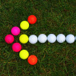Golf ball — Stockfoto #33760817