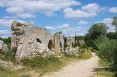 Barbegal aqueduct — Stock Photo