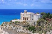Tropea church — Stock Photo