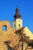 Mautern near Donau church — Stock Photo