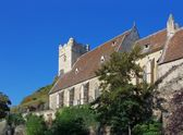 Sankt Michael fortified church — Stock Photo