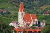 Weissenkirchen in Wachau church — Stock Photo
