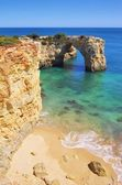 Algarve beach Albandeira — Stock Photo