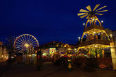 Cottbus christmas market — Stock Photo