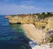 Algarve beach Vale de Centeanes — Foto Stock