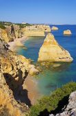 Algarve beach marinha — Foto Stock