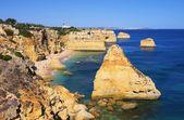 Algarve beach marinha — Stockfoto